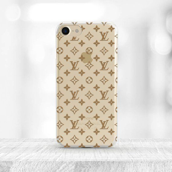 28e1d78fe98 Louis Vuitton iPhone 8 Case inspired by Louis Vuitton Case iPhone 8 plus  Case clear Louis Vuitton Lo