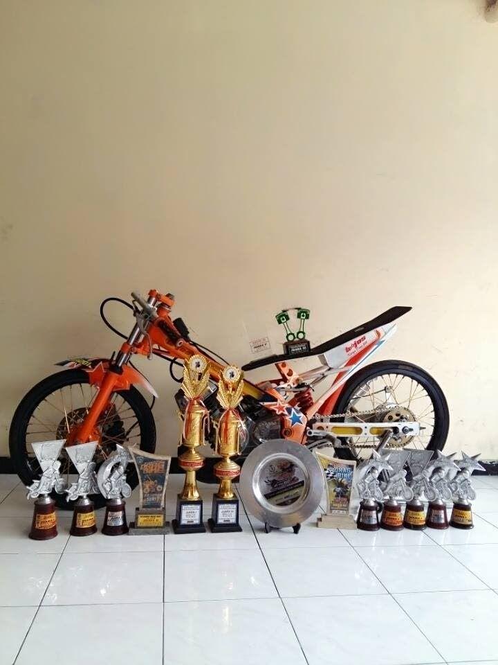 Drag Bike Jagoan Bebek 130cc Team B Joss Surabaya