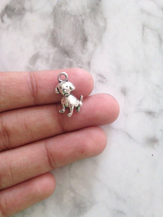 18 Pcs Unique Charms For Jewelry Making Dog Charm Animal Charms