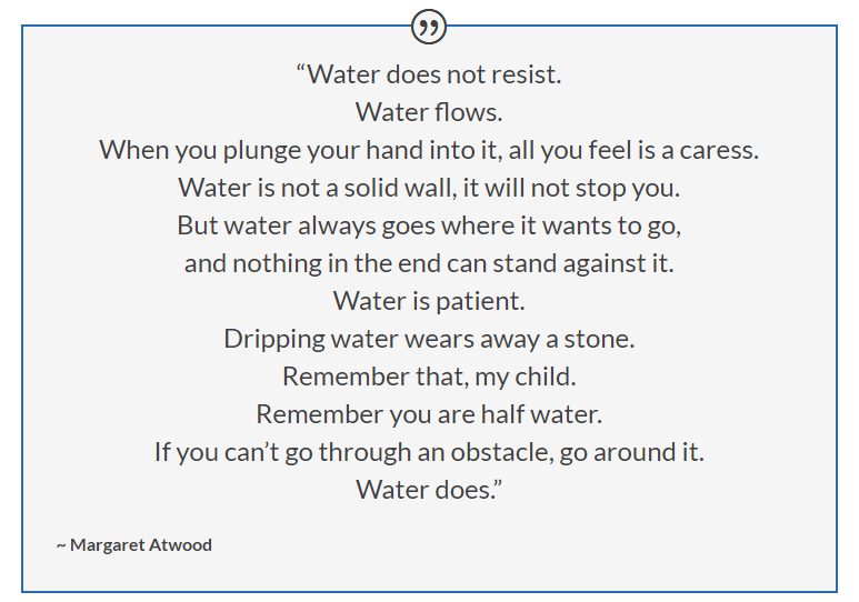 Symbolism of Water | Margaret Atwood #margaretatwood