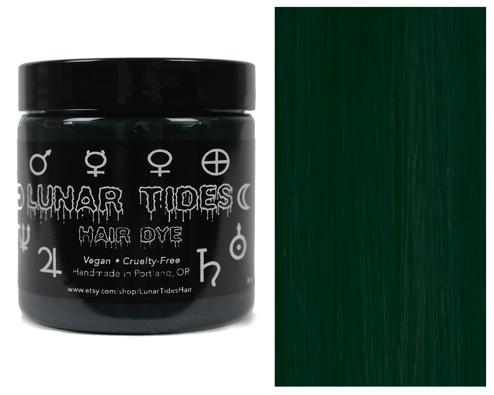 Dark Forrest Green Hair Dye https://www.etsy.com/listing/281117486 ...