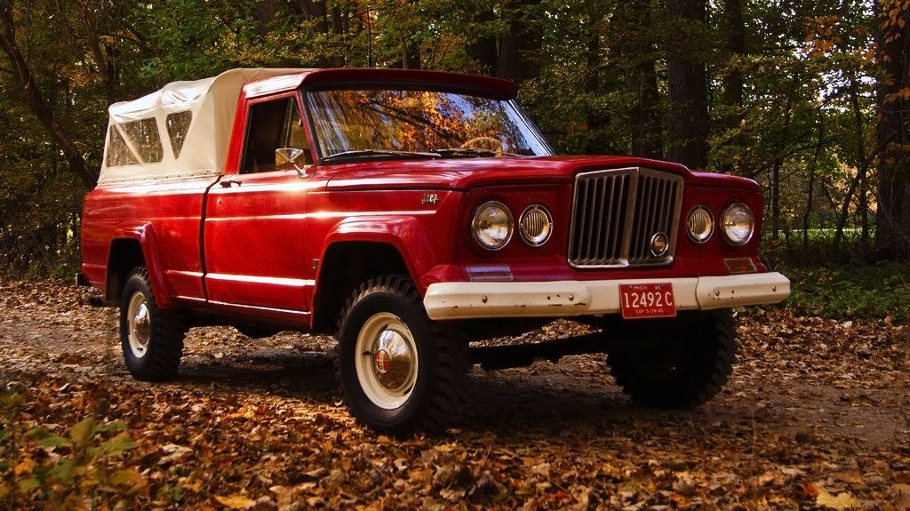 Jeep Gladiator With Sweet Canvas Cab Jeep Old Jeep Jeep Gladiator
