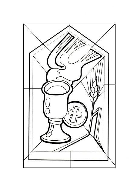 El Rincón de las Melli: VITRAL: Eucaristía y Espíritu Santo ...