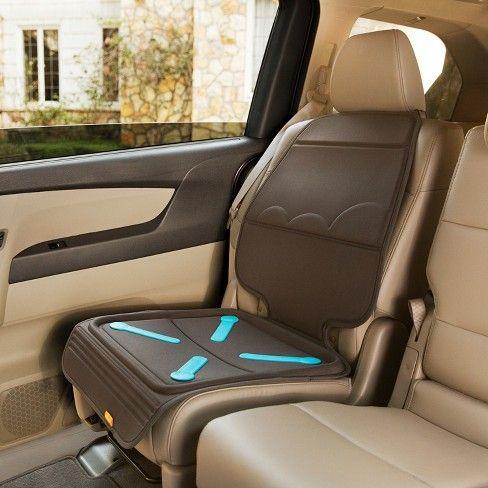 Brica Seat Guardian Car Seat Protector - Gray | Car seat protector ...