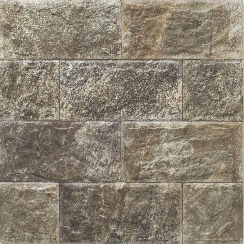 Muretto por gris suelos porche revestimiento for Revestimiento imitacion piedra para exterior