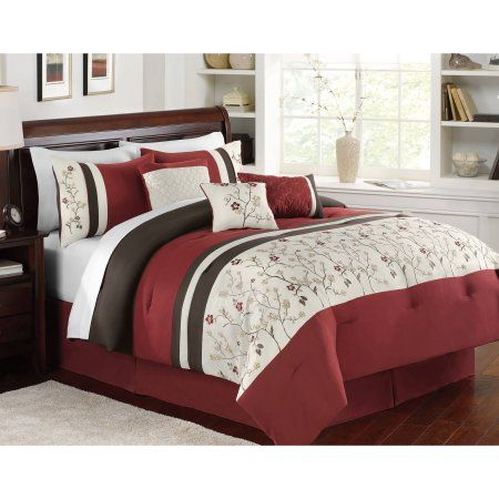 2d9ae86af354b413aa15e32c04aed959 - Better Homes And Gardens Nina 7 Piece Comforter Bedding Set