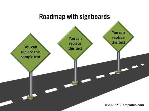 Learn to create a curving S shaped 3D Roadmap in PowerPoint You - free roadmap templates