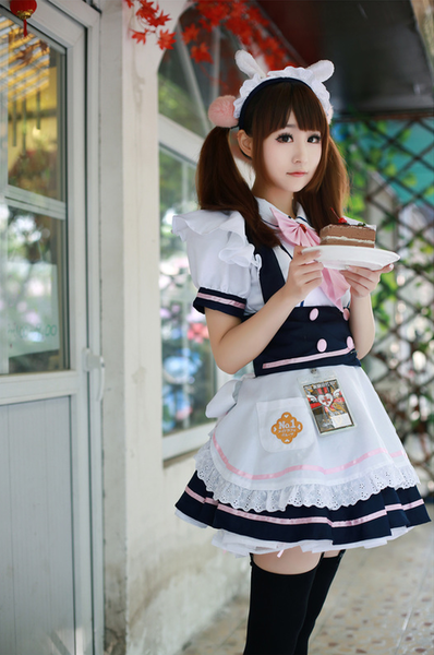 My Maid Cafe Make Sure To Save Room For Dessert Or Stephi Chan Will Be Disappointed Maid Outfit Maid Cosplay Maid Costume