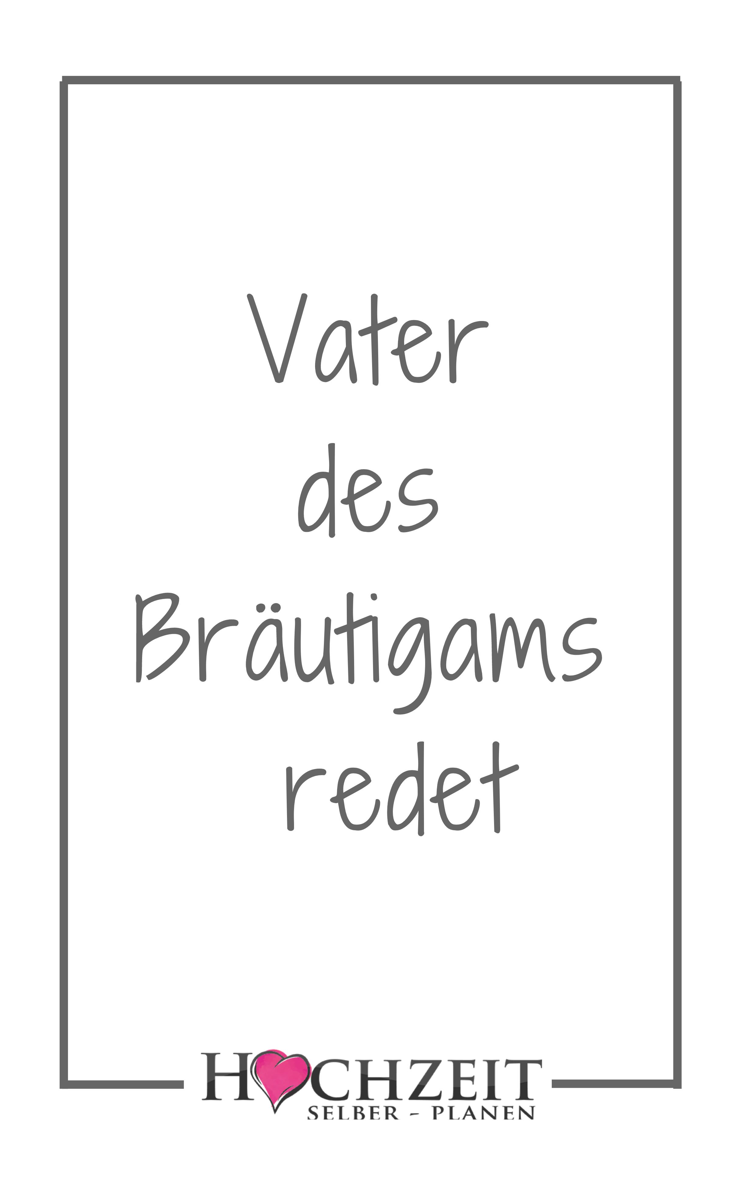 Vater Des Brautigams Redet Hochzeitsrede Brautigam Brautigam Rede Brautigam