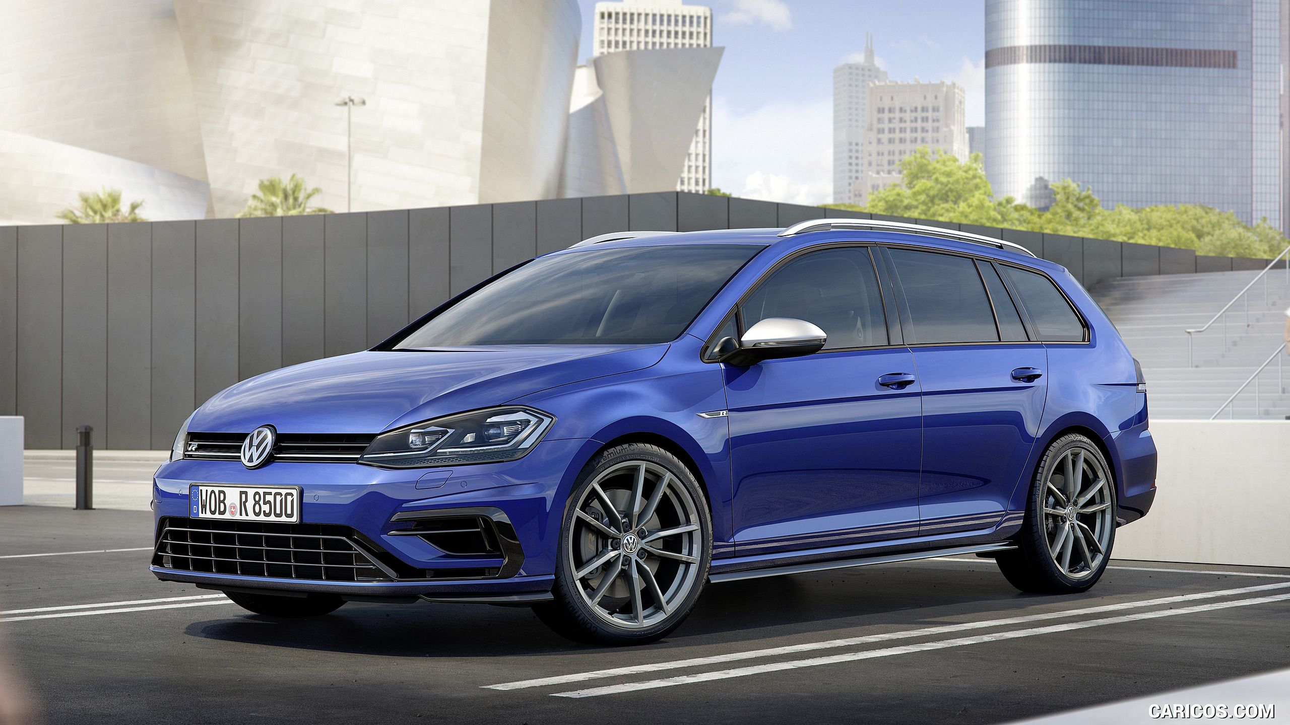 2017 Volkswagen Golf 7 Facelift Wallpaper