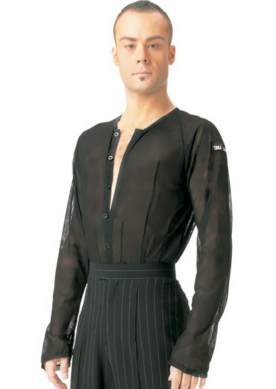 59615445a Taka Mens Latin Shirt MS181 | Dancesport Fashion @ DanceShopper.com ...