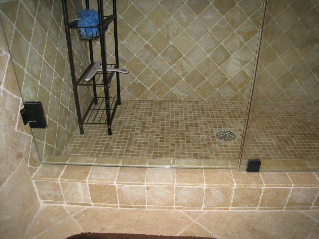 Tumbled marble tile shower floor httpnextsoft21 tumbled marble tile shower floor dailygadgetfo Gallery