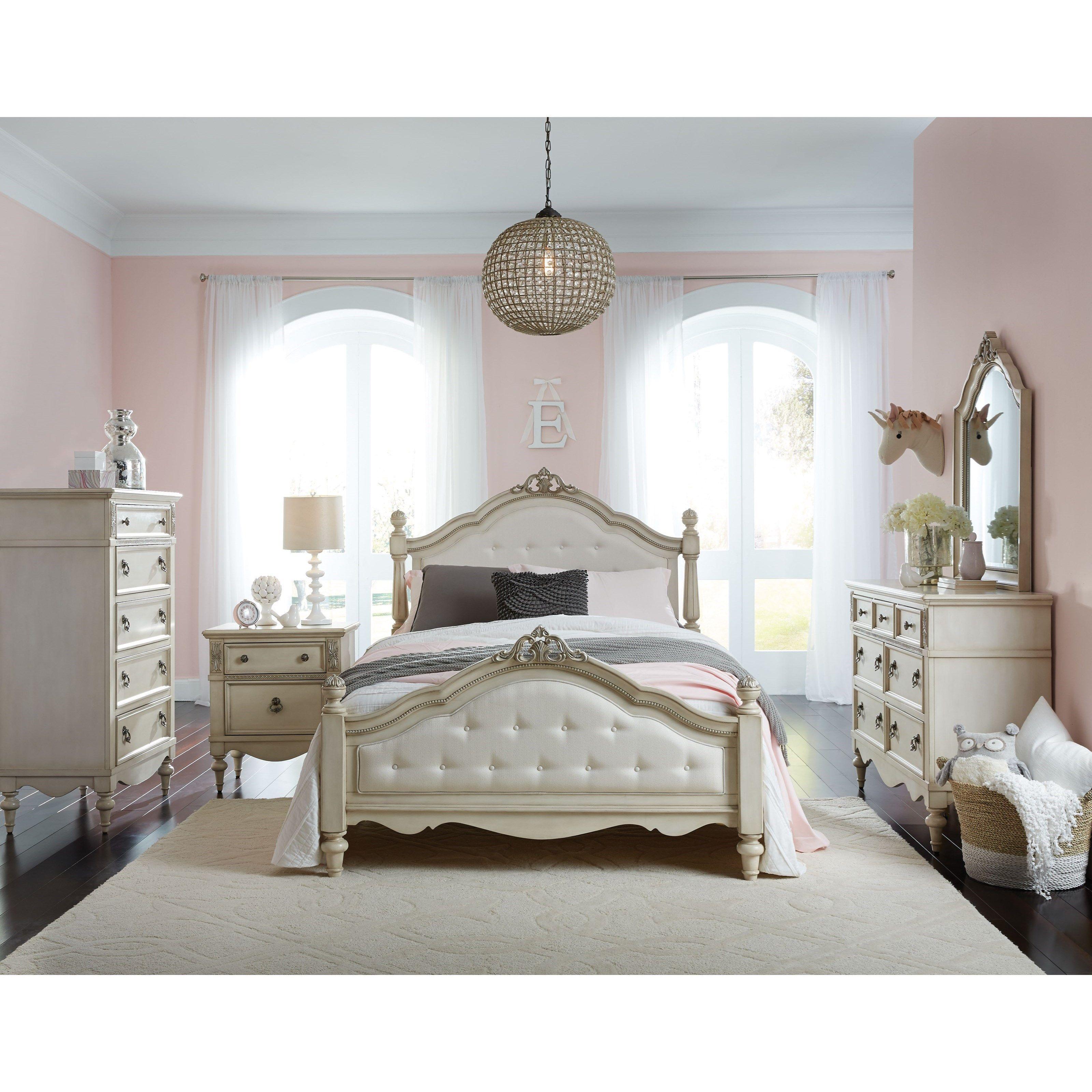 Giselle Full Bedroom Group By Standard Furniture At Miskelly Furniture Dorm Room Colors Girls Bedroom Green Bedroom Furniture Sets