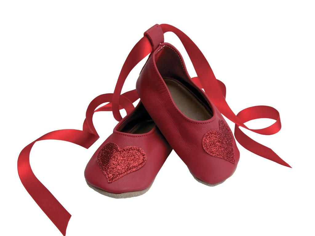 42c3f689af9 Ballerina Heart In Red Glitter - Special Occasions Baby Shoes - Girls 0-2  yrs - Starchild Baby   Kids Shoes