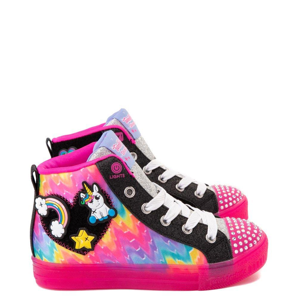 Skechers Girls' Little Kids' Twinkle Toes: Shuffle Brights
