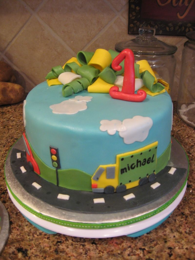 Transportation Cakes Toddler Boy Transportation Birthday Theme