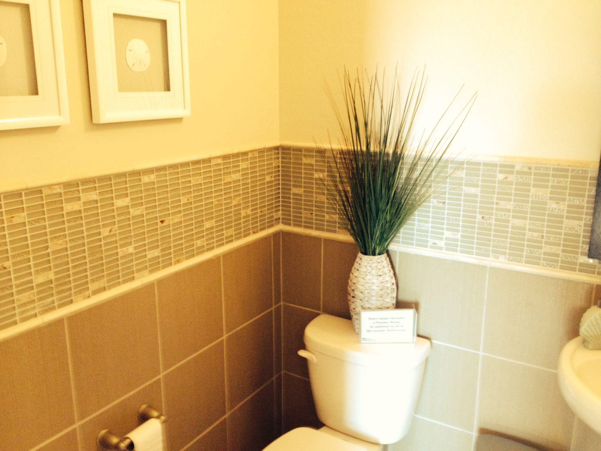 Powder room tile ideas | Powder room | Pinterest | Room tiles, Tile ...