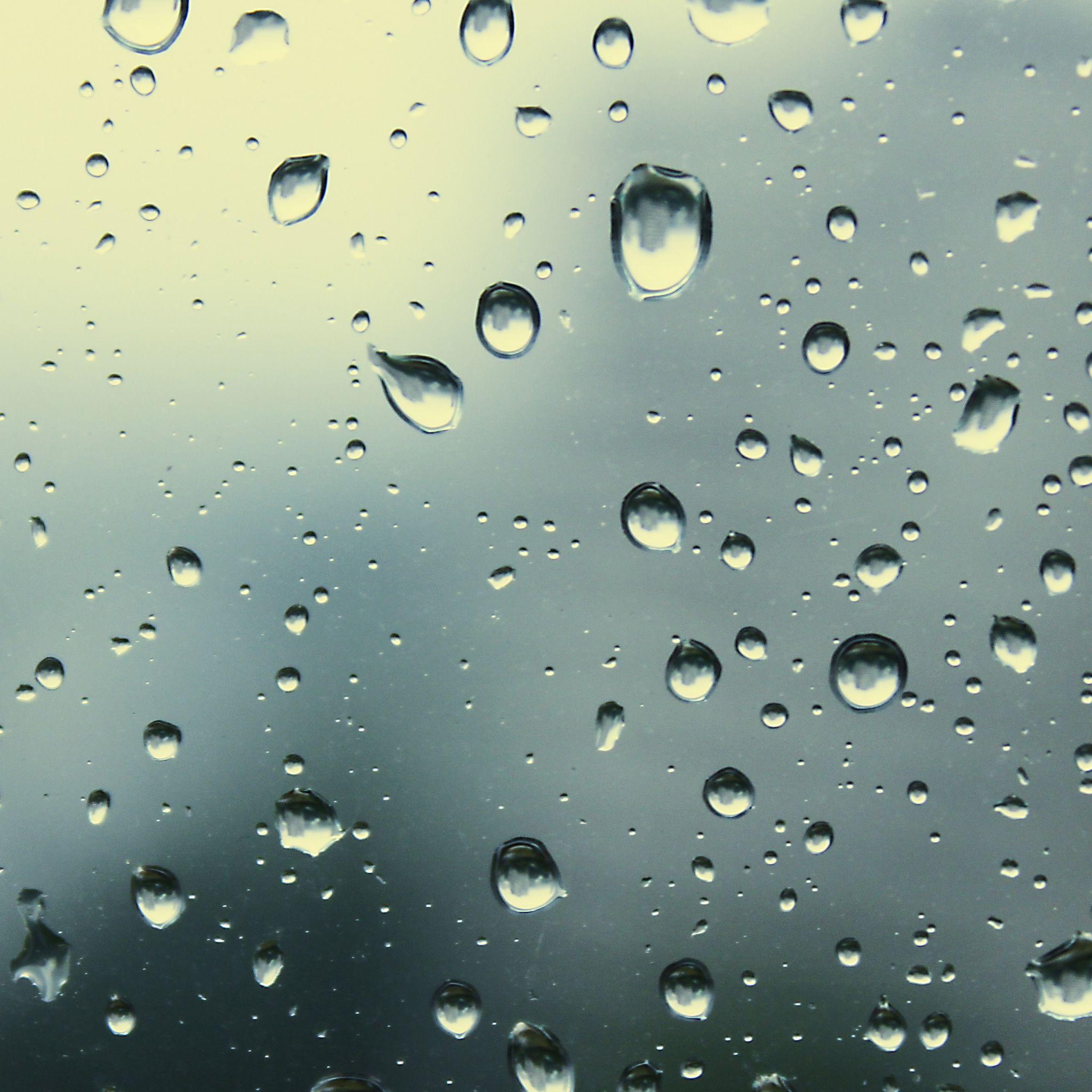 Rain Drops 5 iPad Air Wallpaper Download iPhone