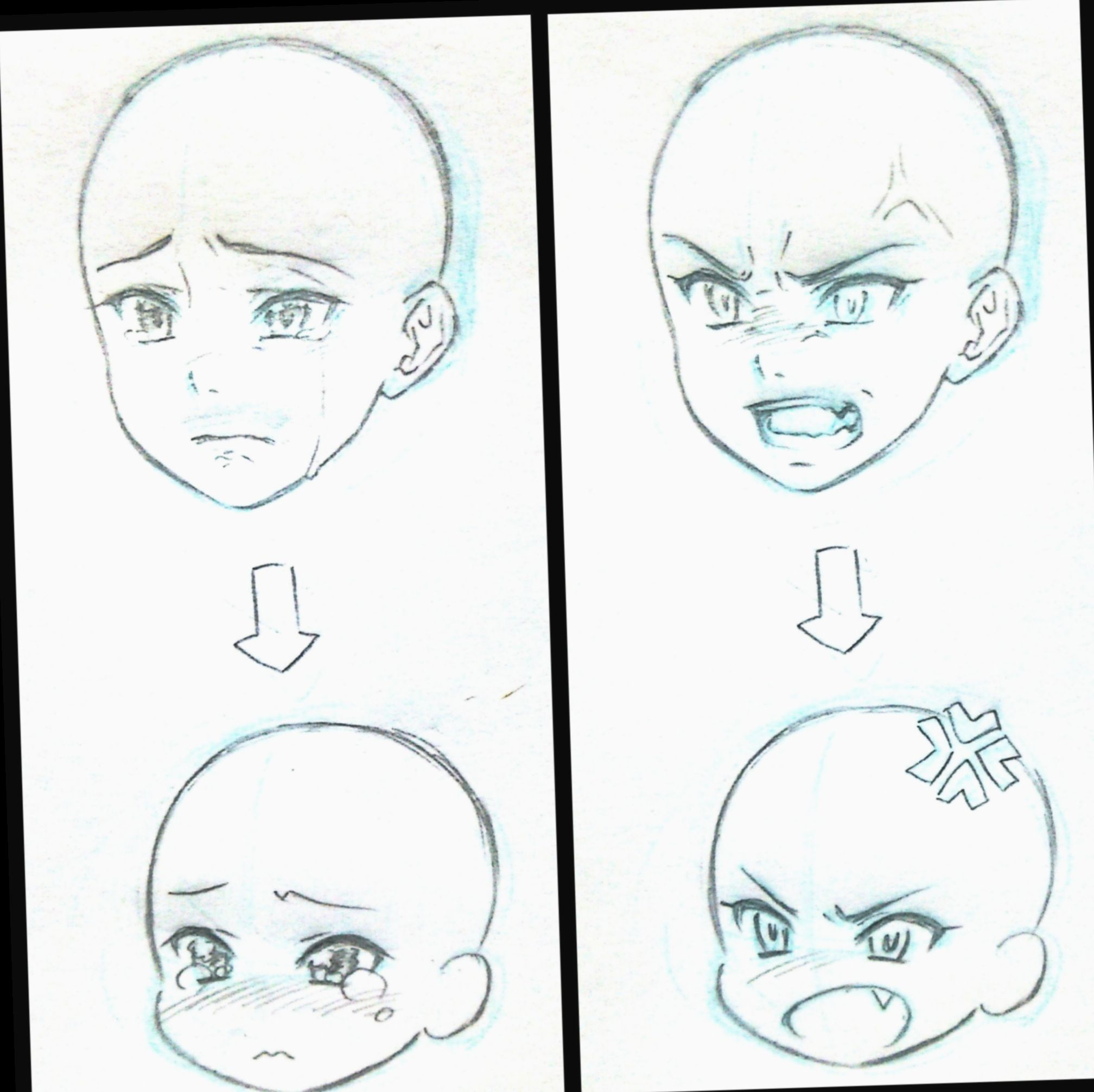 6 Anime Face Base Boy In 2020 Anime Drawings