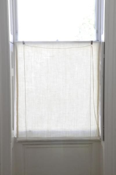 Swedish 18thC Reproduced Roller Blind Kit   Window Dressing   Scandinavian  Interiors Part 26