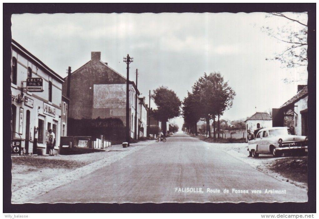 CPA Belgique - Sambreville - FALISOLLE - Route de Fosses vers Arsimont - Carte postale ...