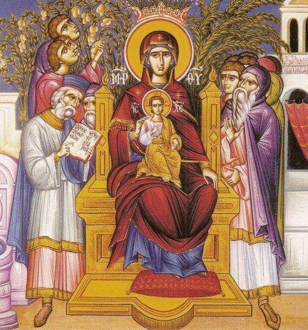 Суббота Акафиста. Похвала Пресвятой Богородицы (+ АУДИО)   Православие и мир