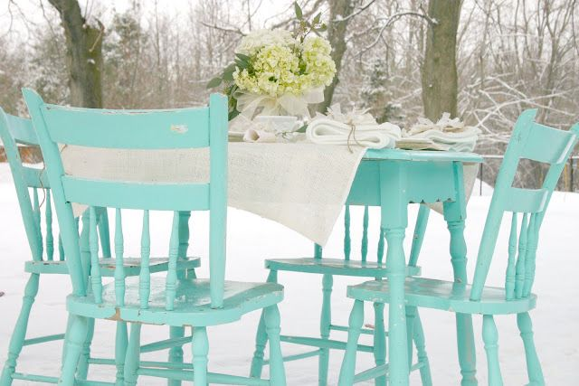brightly painted antique furniture | House of turquoise ...