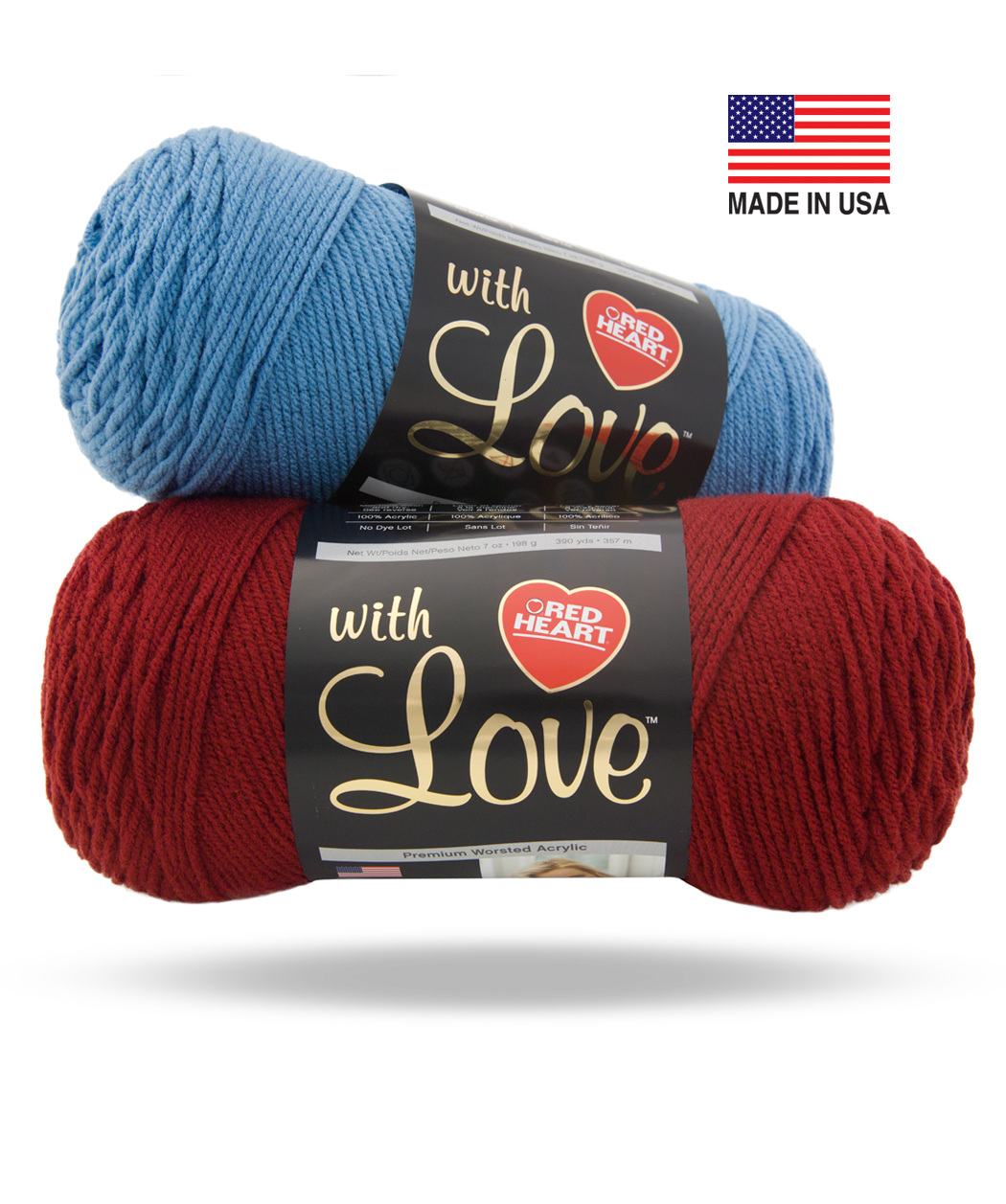 With Love, from Red Heart | Yarns | Pinterest | Hilo, Lana y Tejido