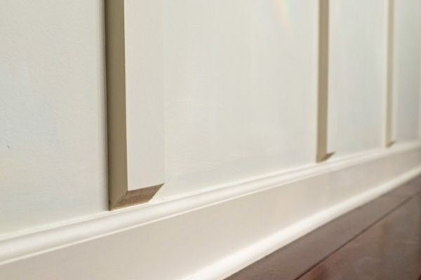 How To Install Board And Batten Without Removing Baseboards Board And Batten Wall Treatments Removing Baseboards