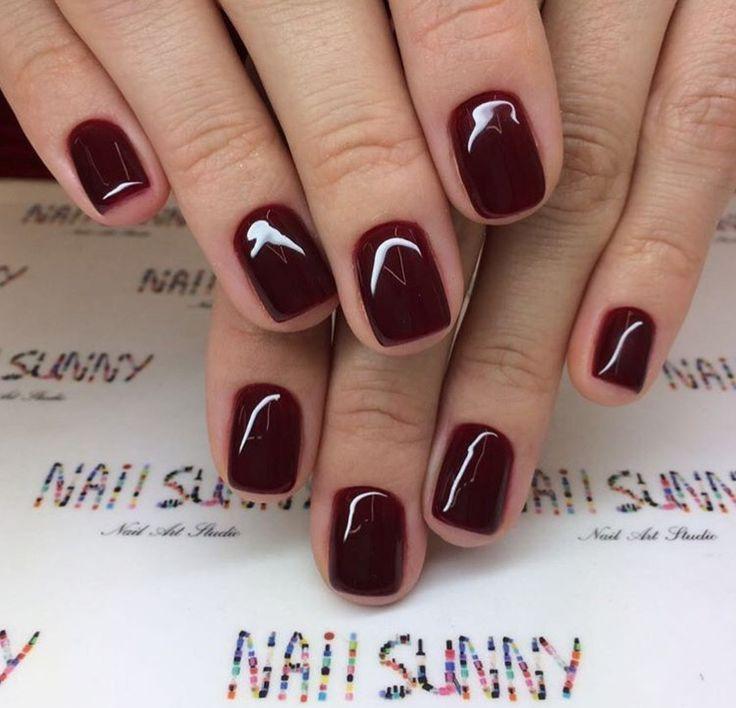 The deeper the fall the darker the nails Malaga Wine OPI    Nägel #fallnails
