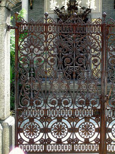 Malaysia Penang Island Wrought Iron Gates Iron Gates Wrought Iron Doors
