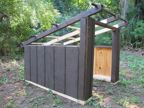 Install T1 11 Siding On A Diy Dog House Modern Dog Houses Dog