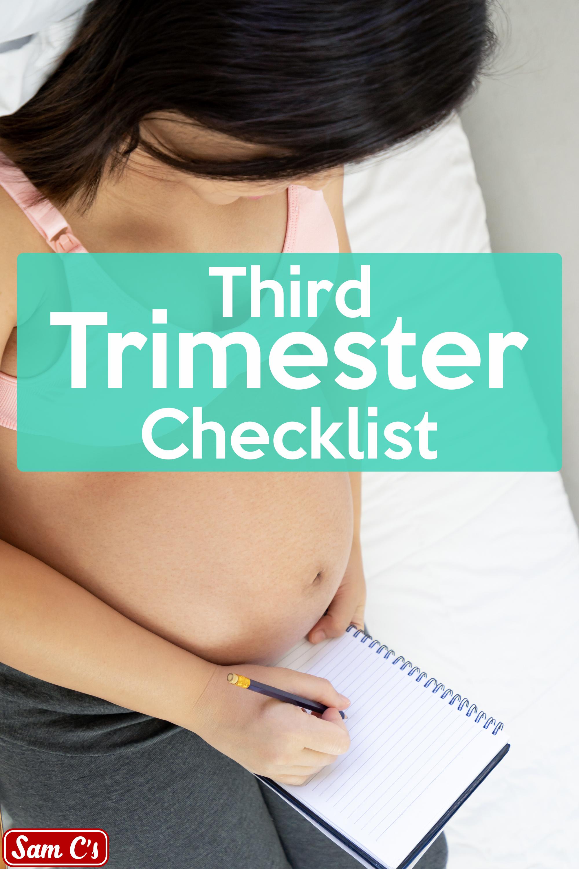 Checkliste für das dritte Trimester   – Pregnancy Tips