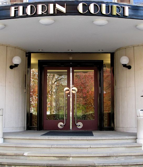 Florin Court entrance doors, London #Art #Deco apartment building ...