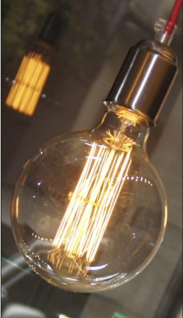 Bombilla Rustica Con Filamento De Carbono Luz Tenue Y Muy Decorativa Luz Tenue Bombillas Ceramica Negra
