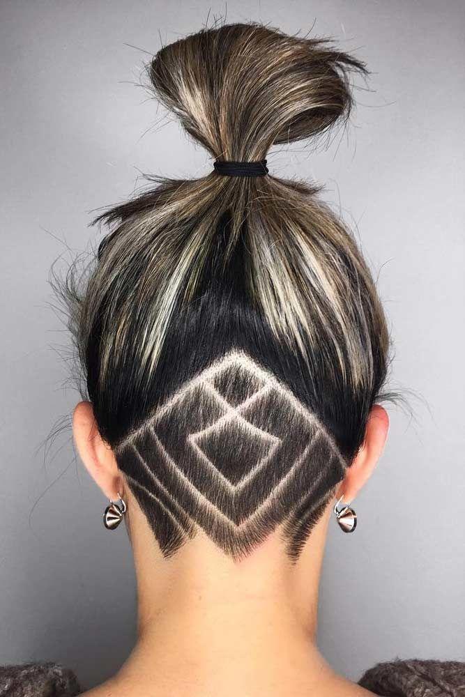 Stylish Undercut Hair Ideas For Women Undercut Hair Undercut - Undercut hairstyle diy