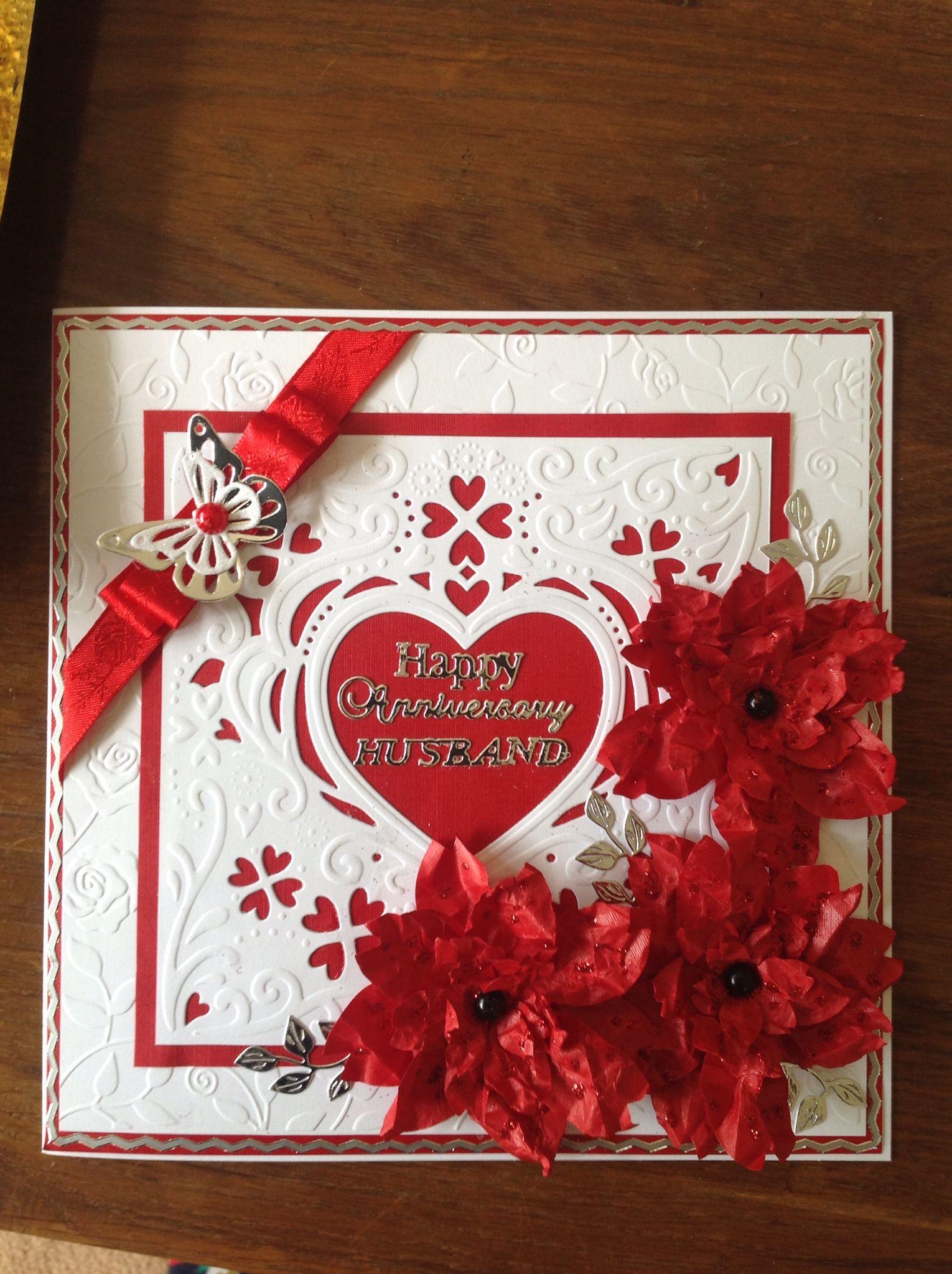 ruby anniversary card  anniversary cards handmade