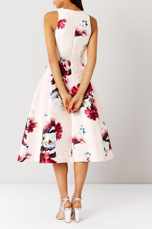 MINERVA FLORAL DRESS SL