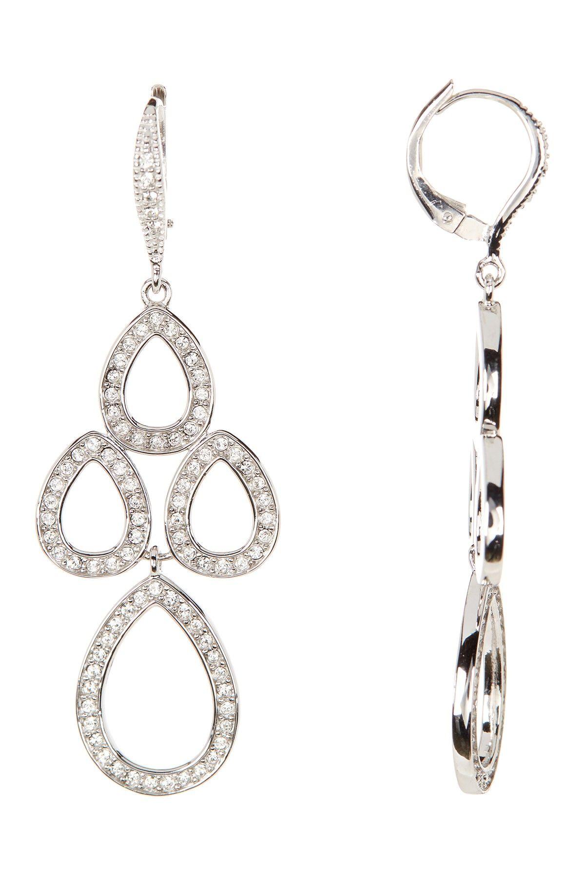 Crystal chandelier earrings chandelier earrings judith jack and judith jack crystal chandelier earrings nordstrom rack arubaitofo Choice Image