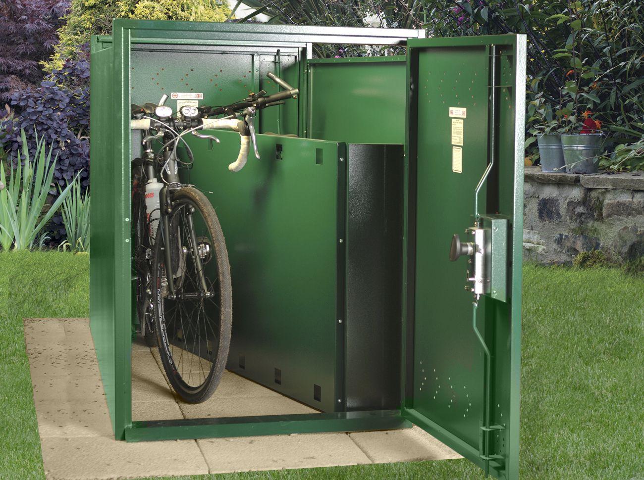 Double Ended Metal Bike Shelter Outdoor Bike Storage Bike