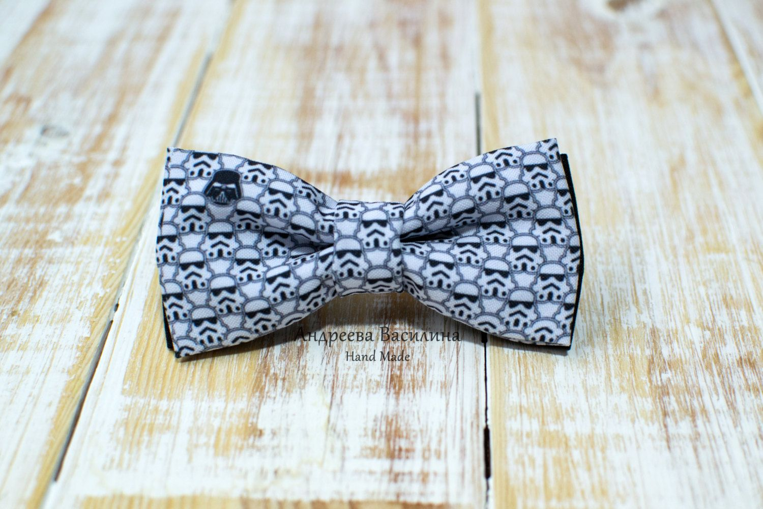 Bow tie Star Wars by Magicfabricbag on Etsy