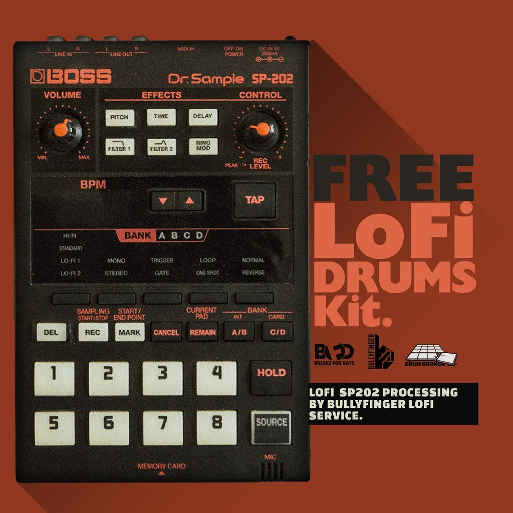 Free Drum Samples - LoFi Drums Kit (Free Download) | Suits