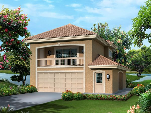 Garage Designs at Architectural Designs | Pool House | Pinterest ...