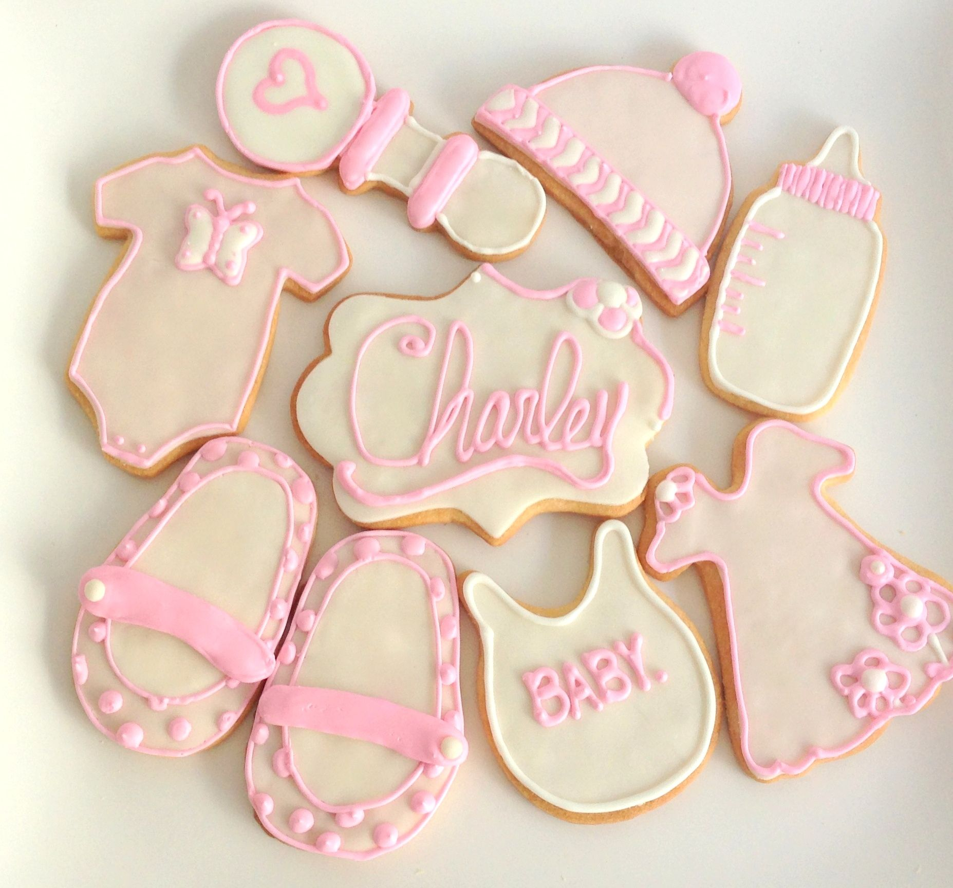 Superior My Lovely Baby Shower Cookies Ideas