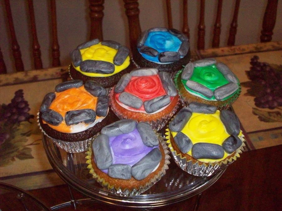 Skylanders Portal Cupcakes Birthday Inspiration Skylanders