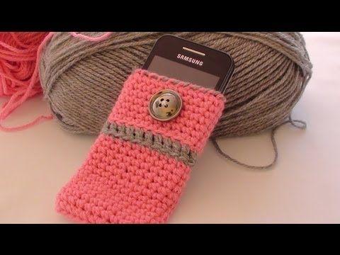 Crochet Cell Phone Case by Crochet Hooks You