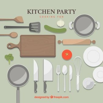 Kitchen Utensils Vectors, Photos and PSD files | Free ...