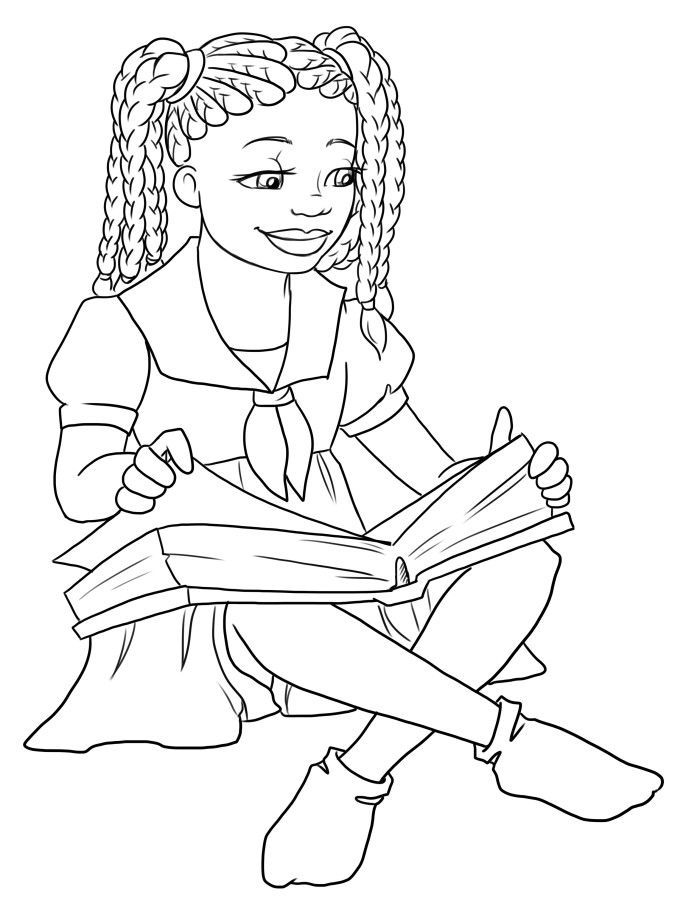 african american coloring book pages - photo#16