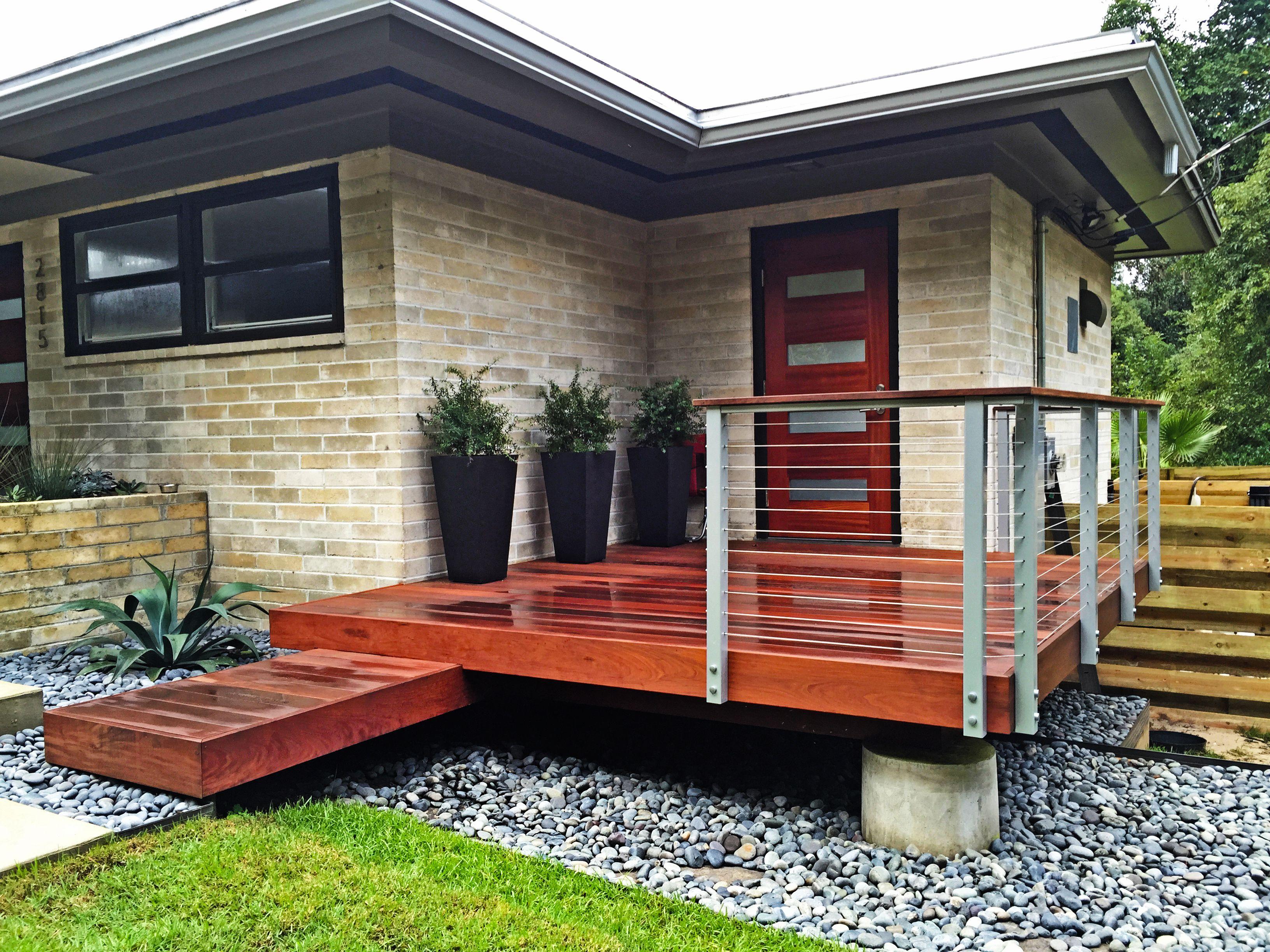 front porch deck Decks & Their ponents Pinterest