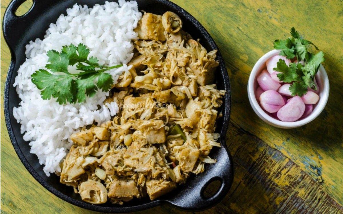 Raw jackfruit curry vegan jackfruit curry curry and vegans raw jackfruit curry vegan forumfinder Images